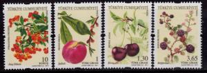 Turkey 3271-3274 MNH - Fruit - 2011