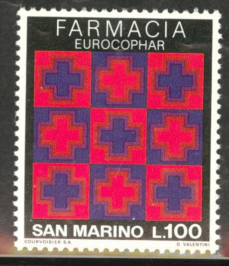 San Marino Scott 868  MH* 1975 stamp