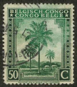 Belgian Congo 212 Used VF