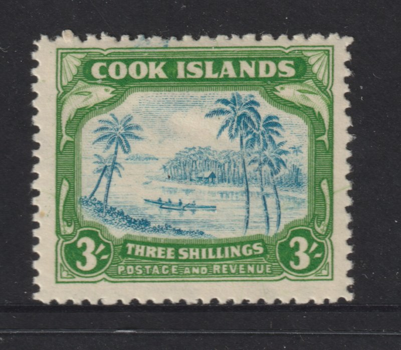 Cook Is a MNH 3/- from the 1944 set