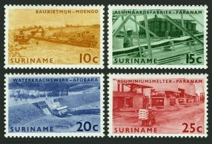 Surinam 319-322,MNH.Michel 474-477. Brokopondo Power Station,1965.