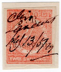 (I.B) Transvaal Revenue : Duty Stamp 2/- (VR TRANSVAAL)