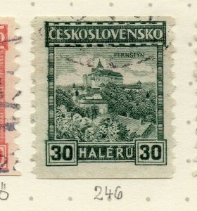 Czechoslovakia 1926-27 Issue Fine Used 30h. NW-148592