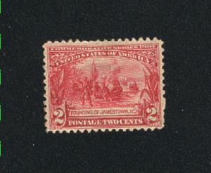 USA #329  Mint H  1907  PD