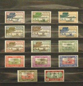 6365   Wallis Futuna   MH # 43,44,46-52,54,57,59,66,69      CV$ 9.30