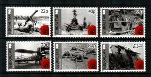 Gibraltar #1498-1503  MNH  Scott $12.00