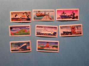 Poland - 2188-95, MNH Set. Polish Ports. SCV - $2.45