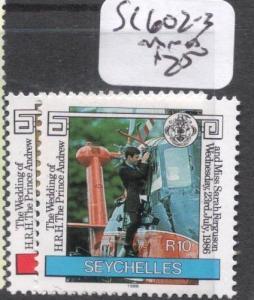 Seychelles SC 602-3 MNH (8dhz)