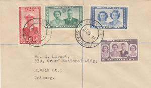 Swaziland Royal Visit First Day Cover 1947