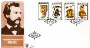 Bophuthatswana - 1981 History of the Telephone FDC SG 76-79