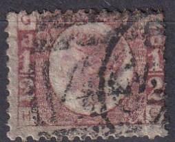 Great Britain #58  F-VF Used CV $22.00   (A19977)