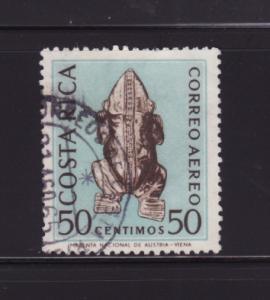 Costa Rica C384 Used Ancient Art, Frog (B)