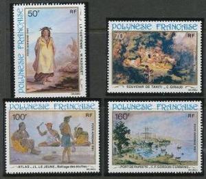 French Polynesia C194-C197 MNH (1982)