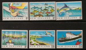 NEW ZEALAND SG1524/9 1989 NEW ZEALAND HERITAGE MNH