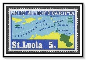 St Lucia #249 Carifta Issue MNH