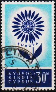 Cyprus. 1964 30m S.G.250 Fine Used