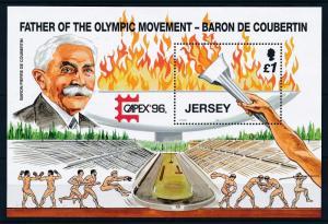 [42950] Jersey 1996 Olympic games Atlanta MNH Sheet