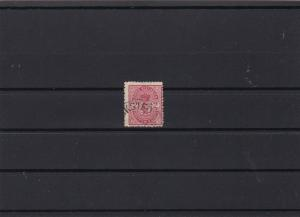 danish west indies 1900 used  stamp ref r9679