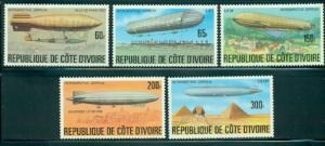 Ivory Coast #440-444  Mint VF H  Scott $11.0