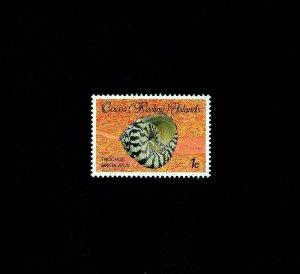 COCOS IS - 1985 - SEA SHELL - TROCHUS MACULATUS - # 135 - MINT - MNH SINGLE!