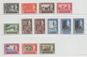 Malaya Perlis - 1957 - SG 29-40 - MNH #7