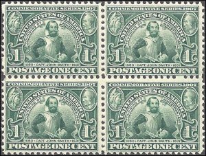 328 Mint,OG,NH... Block of 4... SCV $280.00