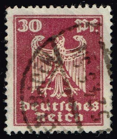 Germany #334 Eagle; Used (0.45)