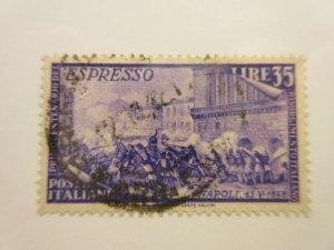 ITALY  Scott  E26  USED  Lot-H  Cat $19