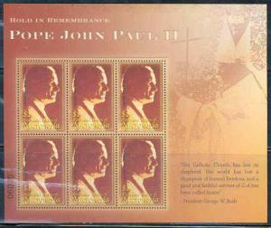 Micronesia - Pope John Paul Memorial StampSheet MIC0515