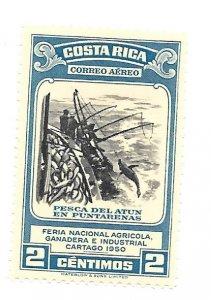 Costa Rica 1950 - Unused - Scott #C198