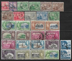 COLLECTION LOT OF 29 TRINIDAD & TOBAGO 1913+ STAMPS CLEARANCE