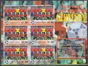 2006 Grenada 5732KL 2006 FIFA World Cup Germany( South Korea ) 9,00 €