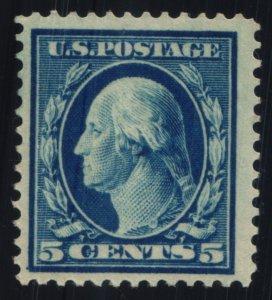 US Scott #378 - F - 5c Blue -Washington - MNH - 1911
