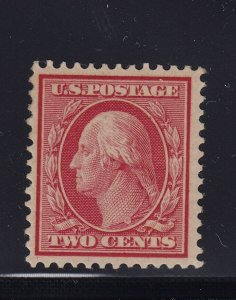 358 Blue paper VF OG previously hinged with nice color cv $ 80 ! see pic !