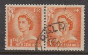 New Zealand Sc#289 Used Pair
