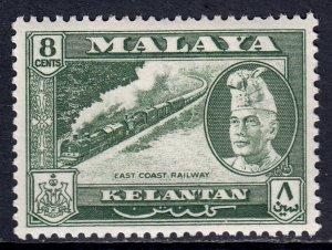 Malaya (Kelantan) - Scott #76 - MH - SCV $2.25