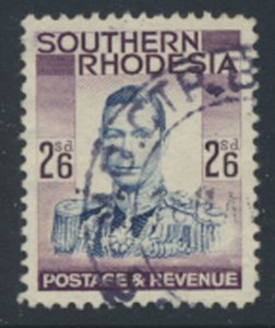 Southern Rhodesia  SG 51   SC# 53   Used / FU  see scan