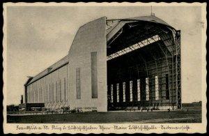 Germany Graf Zeppelin Hangar at Freidrichshafen 6pf von Hind Stamp G66507