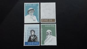 Ireland 1982 Famous Irishmen Mint