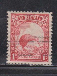 NEW ZEALAND Scott # 186 Used - Bird - Kiwi