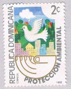 Dominican Republic Dove 2c - pickastamp (AP104012)