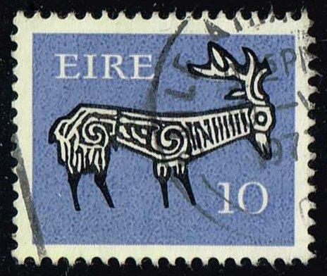 Ireland #398 Stag from Ancient Bowl; Used (0.60)