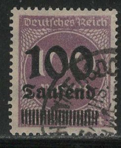 Germany Reich Scott # 253, used, exp h/s