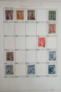 Argentina 1930's to 1960's Stamp Collection