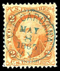 U.S. REV. FIRST ISSUE R15c  Used (ID # 82354)