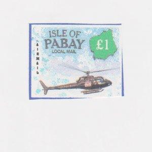 PABAY, British Local - 1999 - Air Mail to Pabay - Perf MNH Single Stamp
