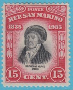 San Merino 172 Postfrisch mit Scharnier Og Kein Fehler Extra Fein