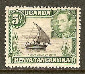 Kenya,Uganda & Tanzania #67 NH 5c Boat Def.