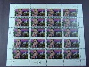 U.S.# 3134-MINT/NH--PANE OF 20---LITERARY ARTS/THORNTON WILDER---2000