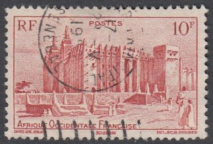 French West Africa 51 Used CV $0.25
